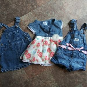 Baby Girl Jean Outfits